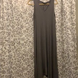 Apt. 9 Gray Maxi Dress
